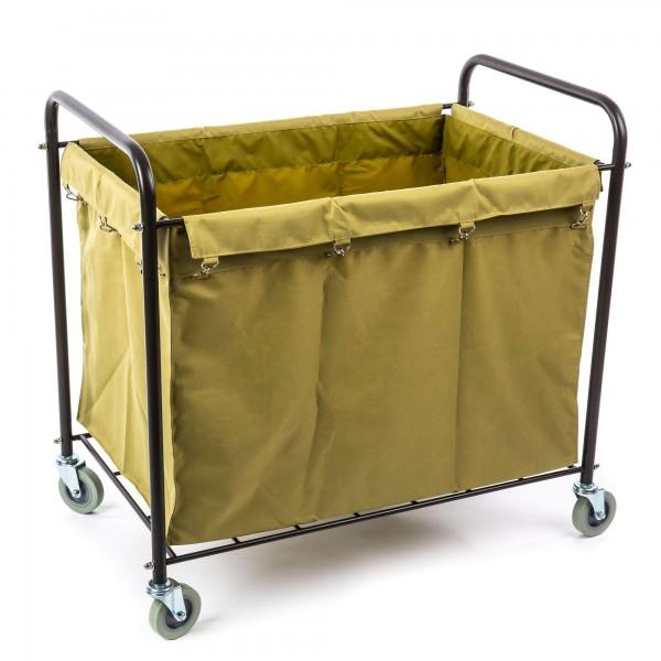 Hotelový úklidový vozík na prádlo velký 270 litrů - 94 x 56 x 89 cm pokojské