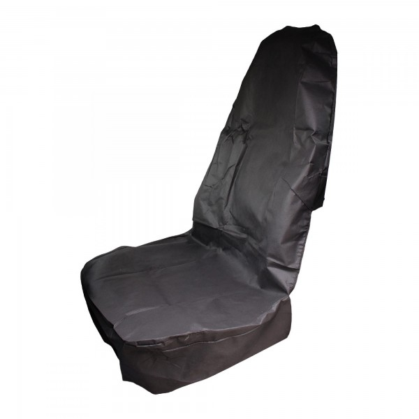 Autopotah na přední sedadlo černé, odolné