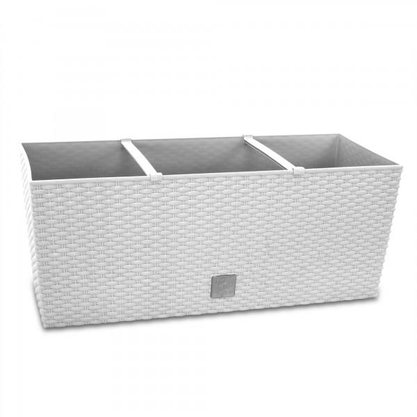 Plastový truhlík rato case bílý 60 - bílý 60 cm