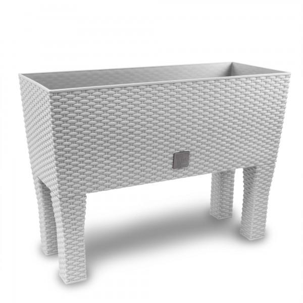 Prosperplast Rato Case ratanový truhlík 80 x 32 x 32 cm bílý