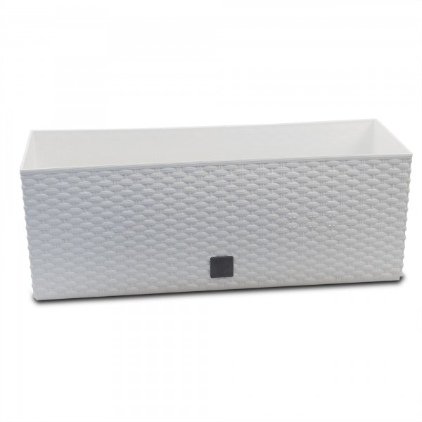 Prosperplast Rato Case ratanový truhlík 52 x 19 x 19 cm - bílý