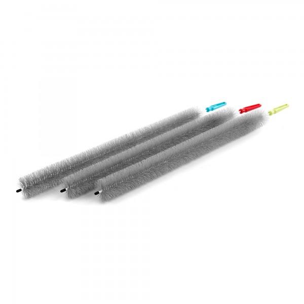 Plastový kartáč na čištění radiátorů - 78 cm dlouhý - Ø 5,5 cm