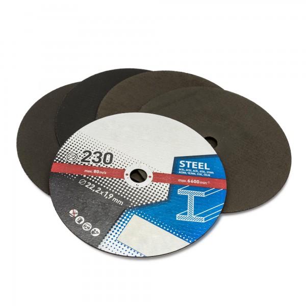 Kotouče řezné Extol Craft, na kov 230x1,9x22,2mm, 5 kusů