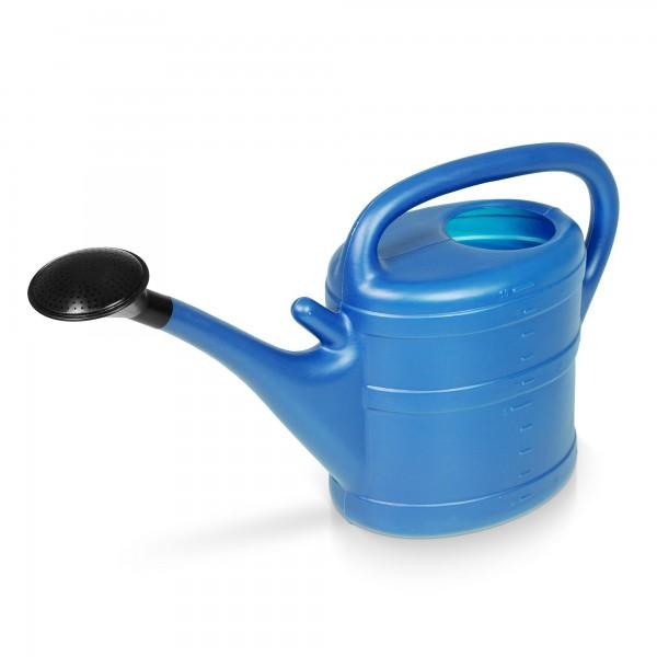 Zahradní konev 10 litrů světle modrá
