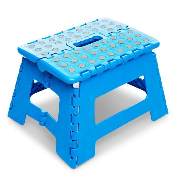 Skládací stolička 30 x 22 cm - nosnost do 150 kg
