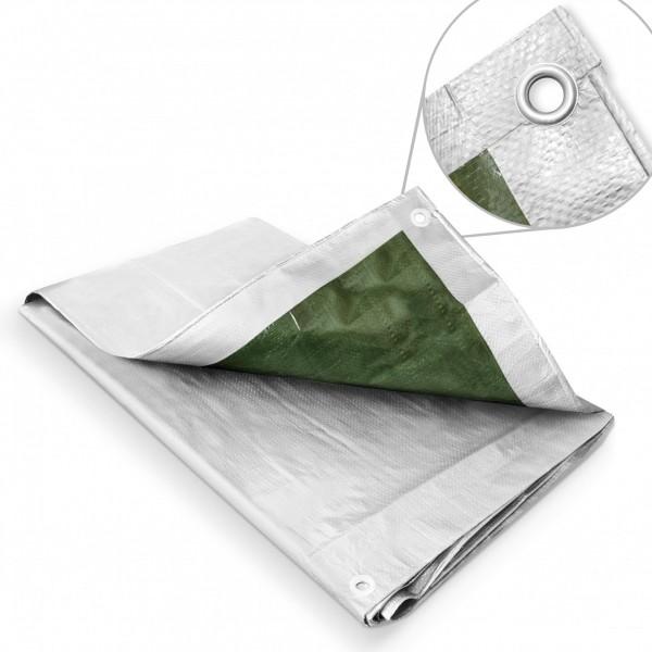 Zakrývací plachta 3 x 5 m – 120 g stříbrná krycí plachta