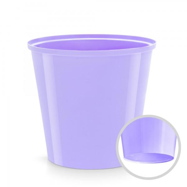 Plastový květináč - levandule - průměr 130 mm - kulatý
