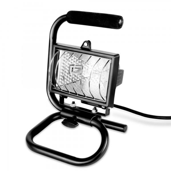 120 W halogenový reflektor s rukojetí a podstavcem - 2000 lm