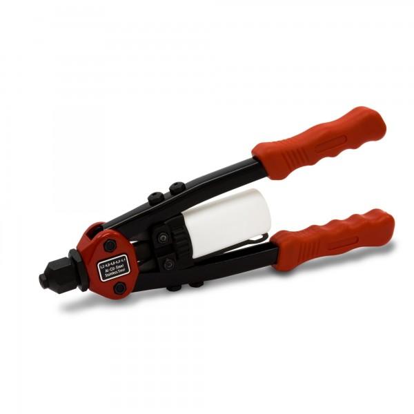 Kleště nýtovací pákové 320 mm, průměr 3,2 do 6,4 mm