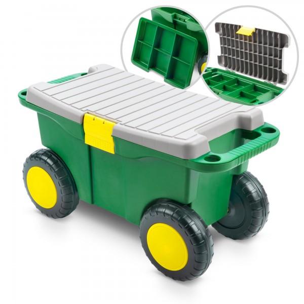 Umělohmotný zahradní vozík 55 x 26,5 x 29,5 cm