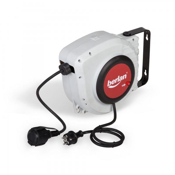 Automatický naviják elektrického kabelu 15 metrů, samonavíjecí buben