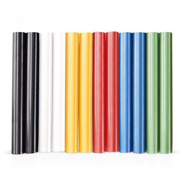 12 ks tyčinky tavné, mix barev Ø 11 x 100 mm