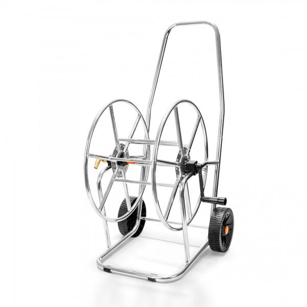 """Kovový vozík na zahradní hadici 80m 3/4"""""""