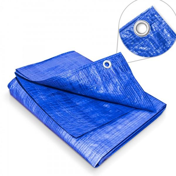Zakrývací plachta 2 x 4 m – 60 g modrá krycí plachta