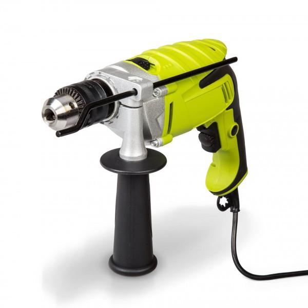 Příklepová ruční elektrická vrtačka 1100 W - Ø 1,5-13 mm