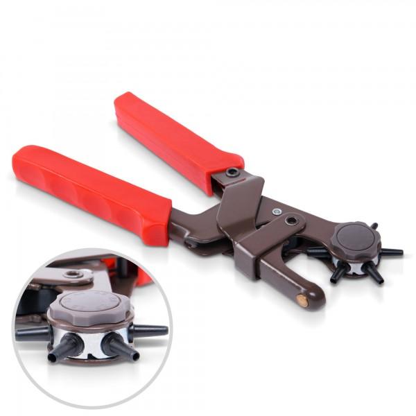 Revolverové děrovací kleště 6 velikostí pofi