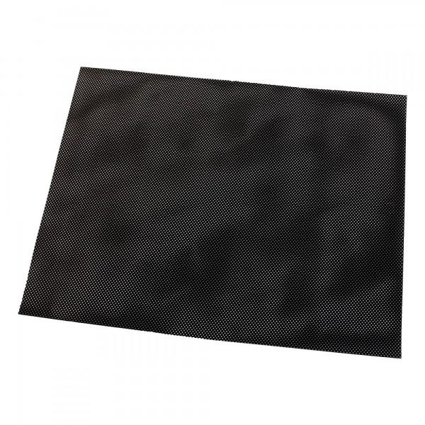 Sluneční clona do auta 43 x 34 cm perforovaná/samolepicí, černá