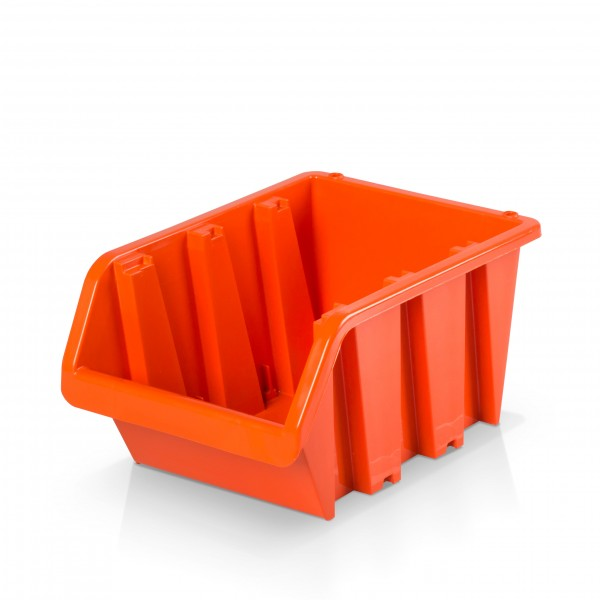 Plastový závěsný box rozměr 4 - oranžový 16 x 23 x 12 cm