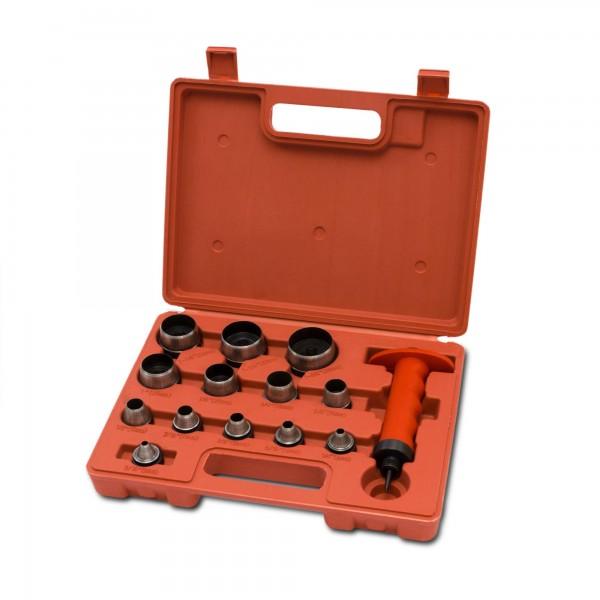 Výsečníky výměnné, sada 13 ks, EXTOL PREMIUM 5 - 35 mm v kufříku