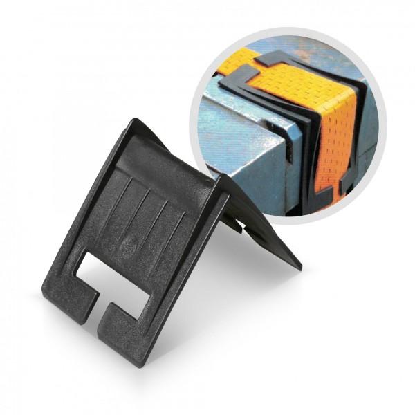 Ochranný roh plastový pro popruhy 110 x 110 x 82 mm