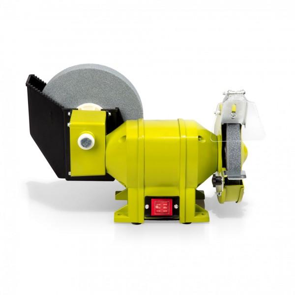 250 Watt dvojitá bruska Ø 150 mm/200 mm (suché/mokré broušení)