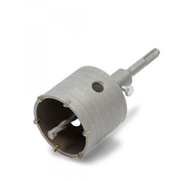 Vrták SDS PLUS do zdi korunkový, 68mm, max. hloubka vrtu 50mm, karbidové hroty