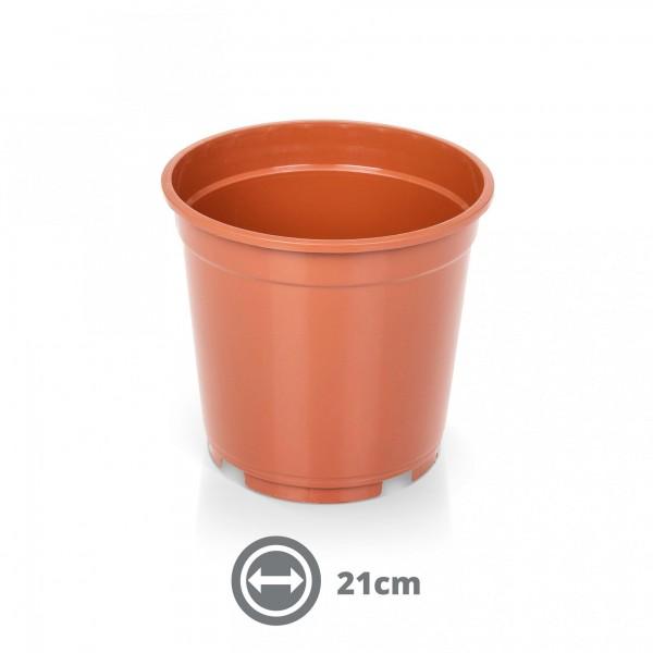 Kontejner pro rostliny s uchy 21 cm 5 l terakota