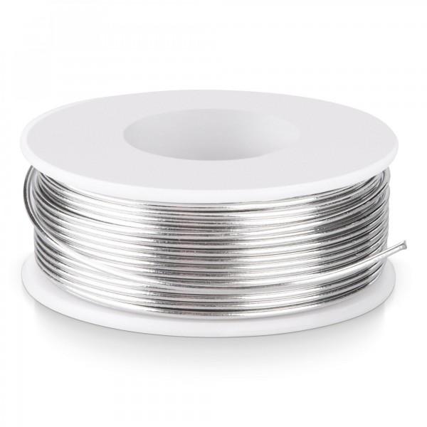 Drát pájecí trubičkový 100 g cívka Ø 1 mm průměr