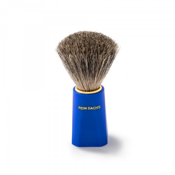 Štětka na holení z čisté jezevčí srsti - 10 x 3 x 3,2 cm