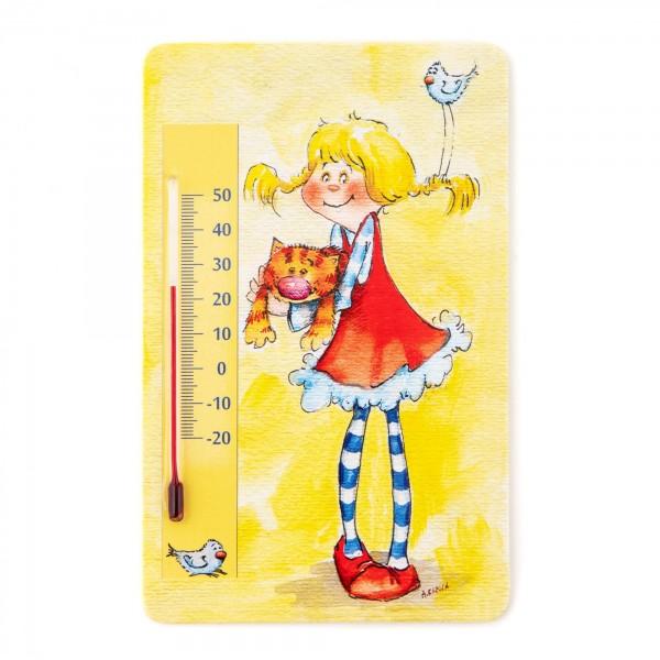 Pokojový teploměr dětský pokoj samolepící - 14 x 9 cm