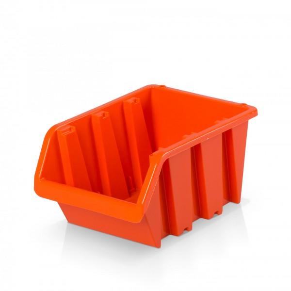 Plastový závěsný box rozměr 3 - oranžový 12 x 19,5 x 9 cm