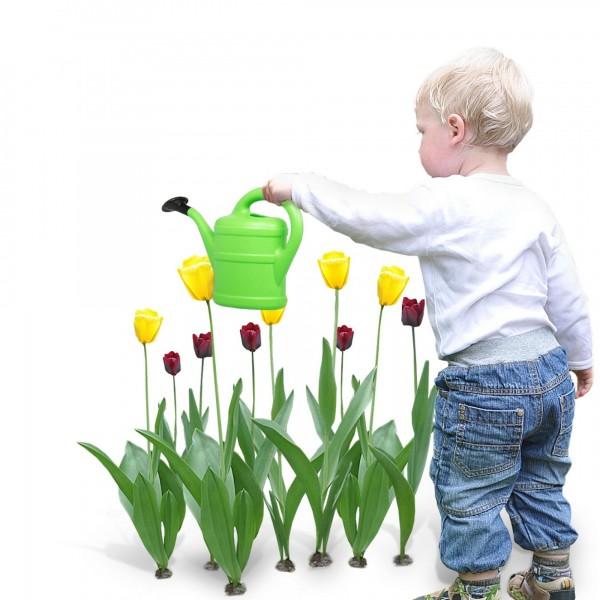 Dětská zahradní konvička 1 litr zelená