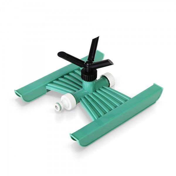 3-ramenný kruhový zavlažovač se sáňkami - GREEN LINE