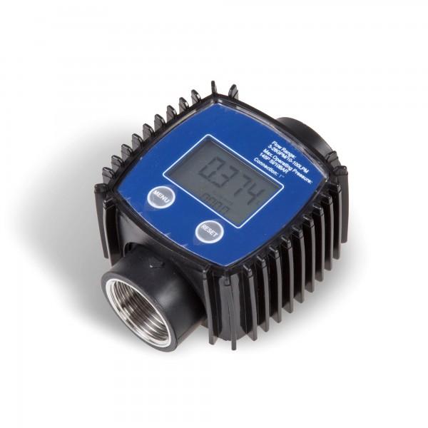 Průtokoměr na paliva digitální 10 - 100 L/min LCD