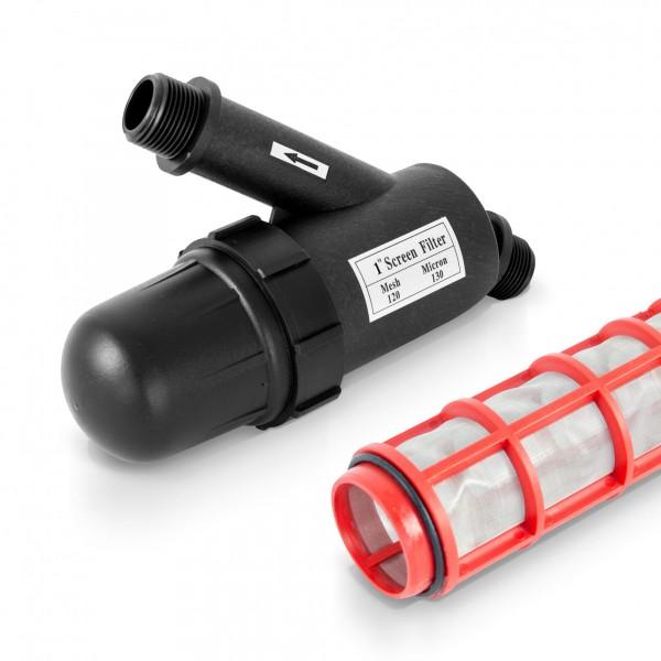 """Vodní filtr se dvěma 1"""" přípojkami - 5m³/h"""