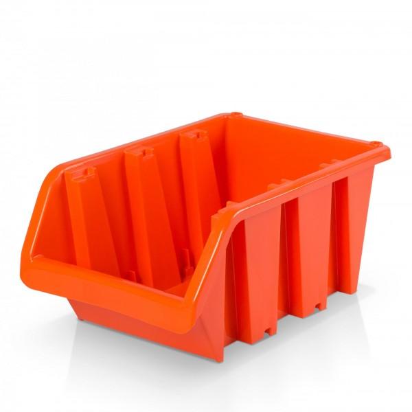 Plastový závěsný box rozměr 6 - oranžový 24 x 39 x 18 cm