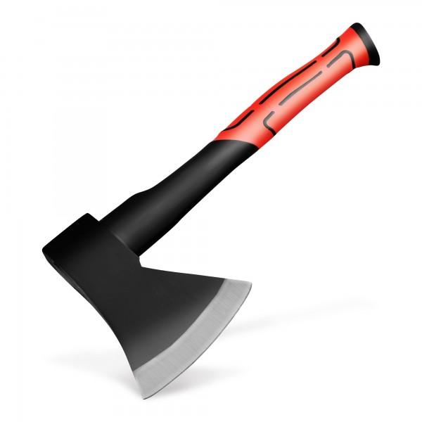 Sekera 800 g se sklolaminátovou násadou 36 cm - červená/černá
