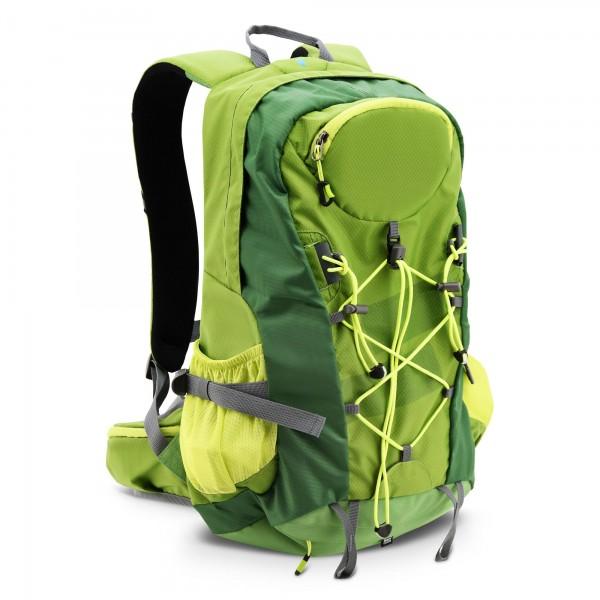 Batoh 32 l Green W zelený s pláštěnkou