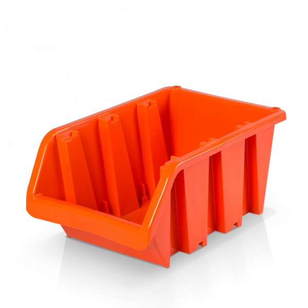 Plastový závěsný box rozměr 5 - oranžový 20 x 29 x 15 cm