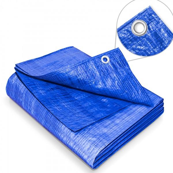 Zakrývací plachta 10 x 12 m – 60 g modrá krycí plachta