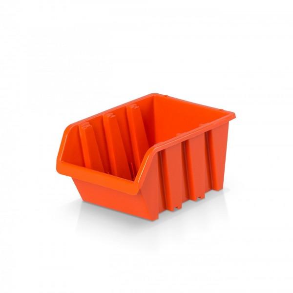 Plastový závěsný box rozměr 1 - oranžový 8 x 11,5 x 6 cm