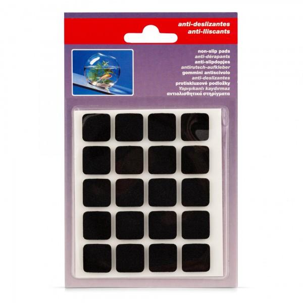 Podložky pod nábytek protiskluzové samolepící - ks 17 x 17 mm