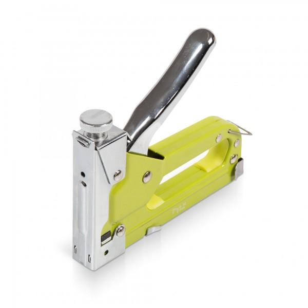 Sponkovací pistole hřebíkovačka/sponkovačka včetně 600-ti spon a hřebíků