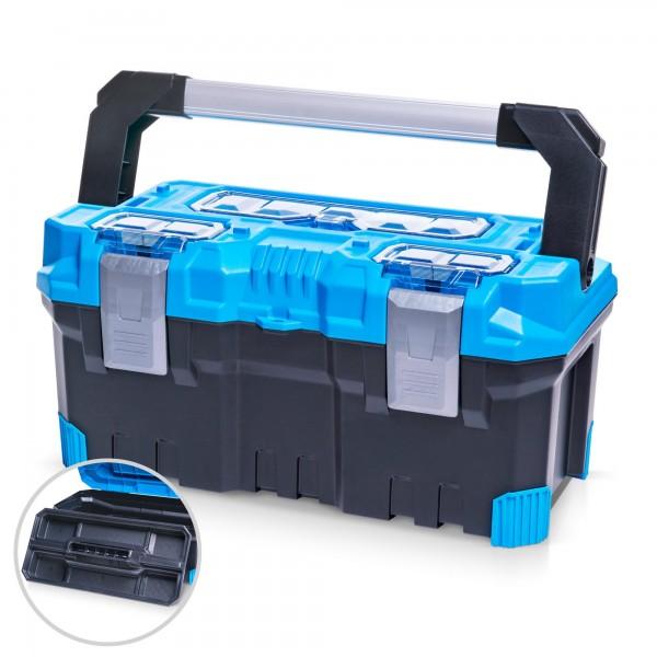 Kufr na nářadí Prosperplast Titan Plus NTP20A 496 x 258 x 240 mm modrý