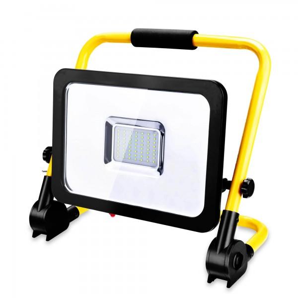50 W stavební reflektor LED včetně stojanu - 4500 lumenů