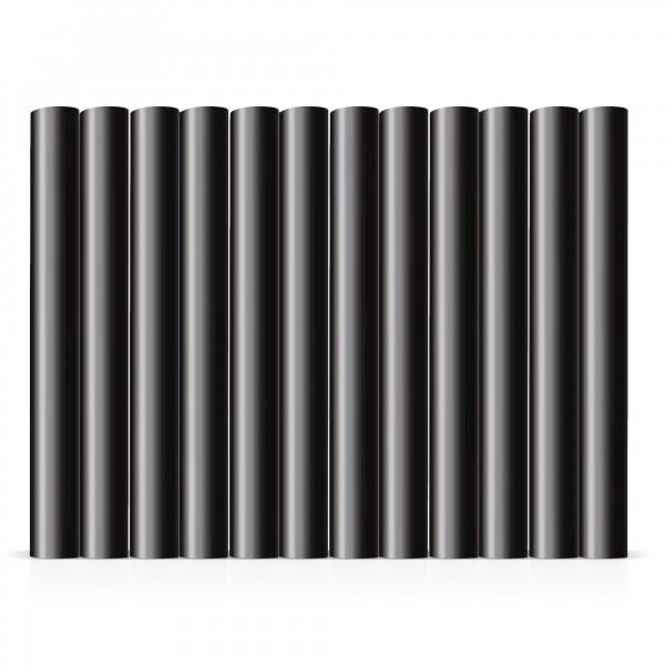 12 ks tavné tyčinky černé Ø 11 x 100 mm