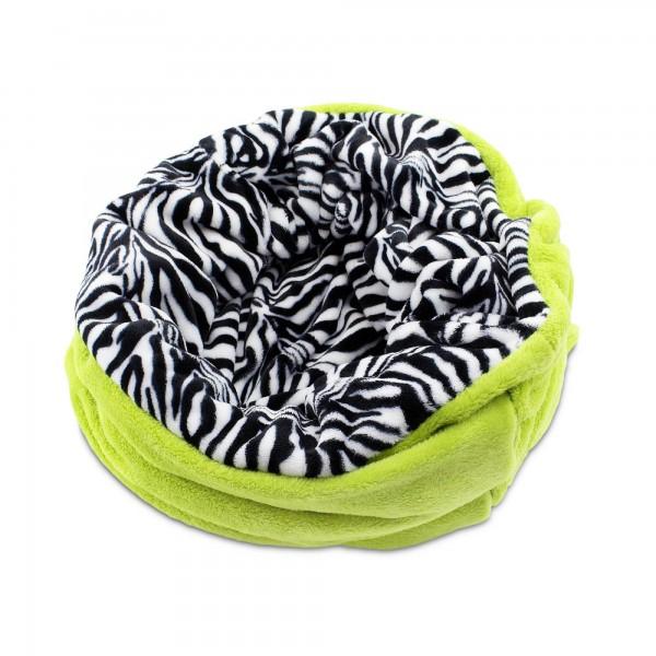 3 v 1 deka pro psy, spací pytel 3 v 1 zelená, fleece