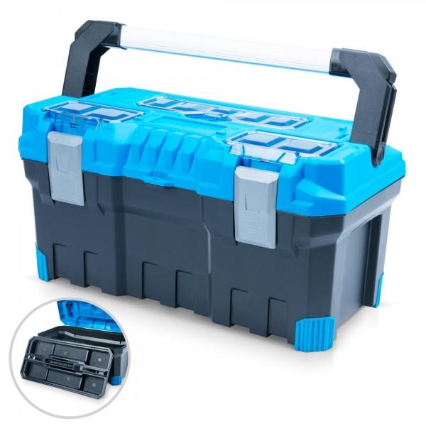 Kufr na nářadí Prosperplast NTP22A 554 x 286 x 276 mm modrý