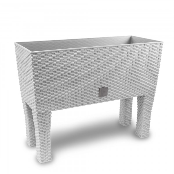 Prosperplast Rato Case High truhlík 60 x 25 x 46 cm bílý