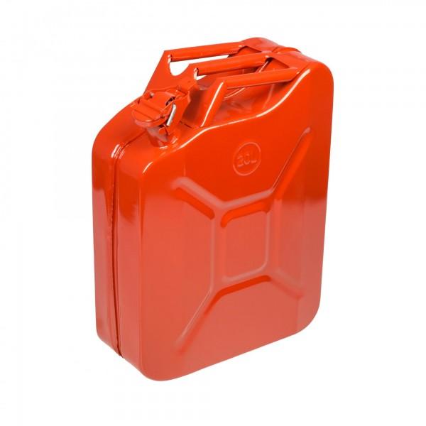 Kanystr ocelový na benzín, 20l Extol Premium 8863200 20 l